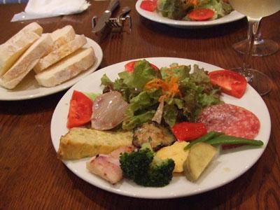 学芸大学 PIZZERIA CON CUCINA STELLA(ピッツェリア・コン・クッチーナ・ステラ) 前菜
