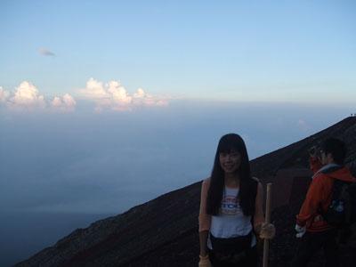 富士登山 8合目