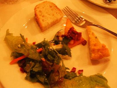高輪 Ristorante Tremeal(リストランテ トレミール)  前菜など