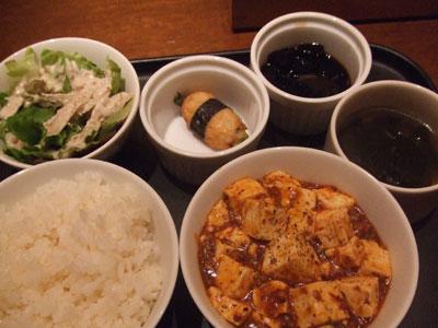 代官山 レストラン COLOR ランチセット1000円也