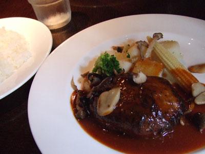 P.C.A. Pub Cardinal Akasaka(パブカーディナルアカサカ) ハンバーグ
