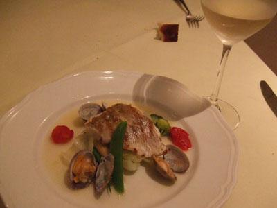 代官山 ラ・ジョルジーナ 魚