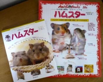 日記8・13ハムちゃん本