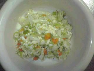 鶏さんとお野菜のマカロニ。