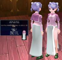 コレスヒーラードレス(紫)