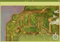 風林の鳥居MAPです。