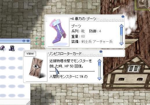 ゾンスロ靴