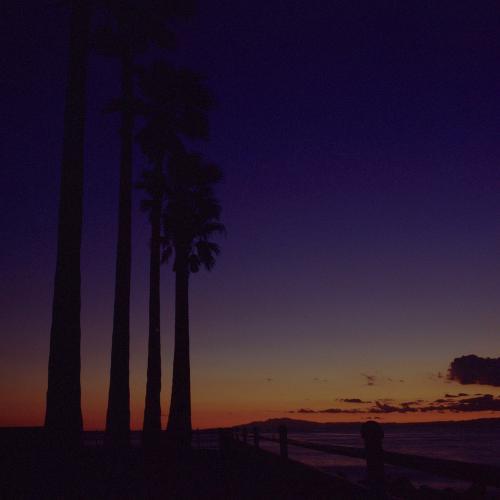 飯島公園の夕凪