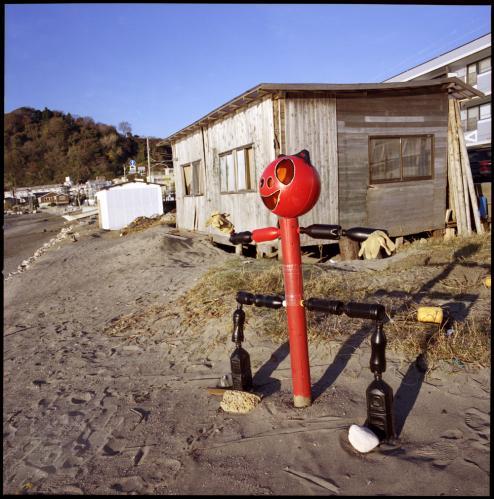 漁師小屋2モニュメント