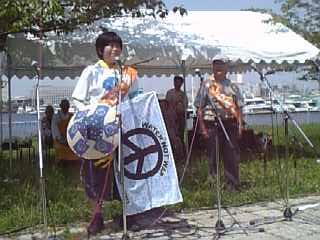 2010年夢の島行進者