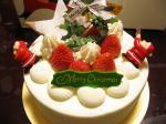 人間のクリスマスケーキ♪