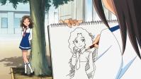 成島くん、上手く描けてる!