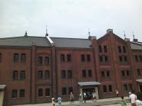 赤レンガ倉庫です。
