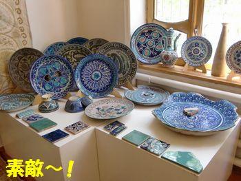 綺麗な陶器~!