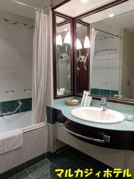 マルカジィホテル。お風呂。