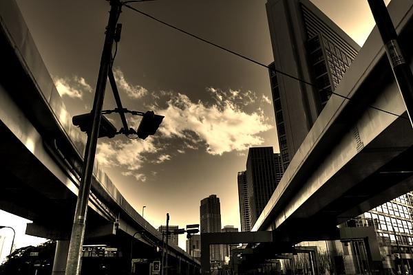モノクロ新橋