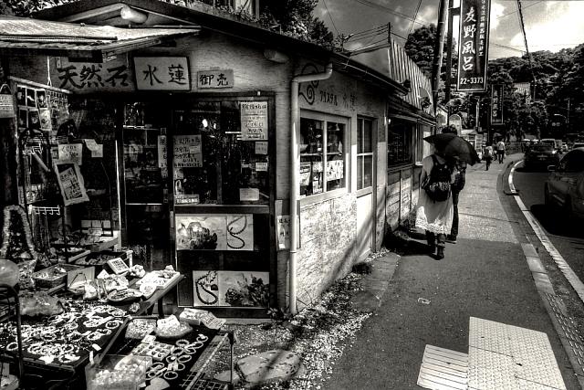鎌倉の暑い一日