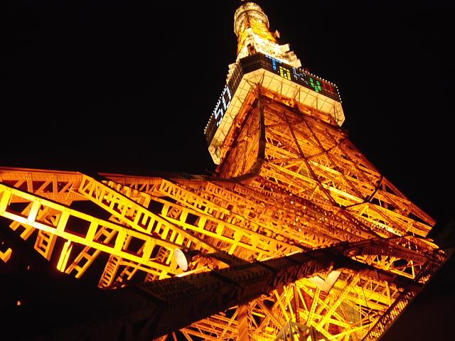 東京タワー コンパクトデジカメ