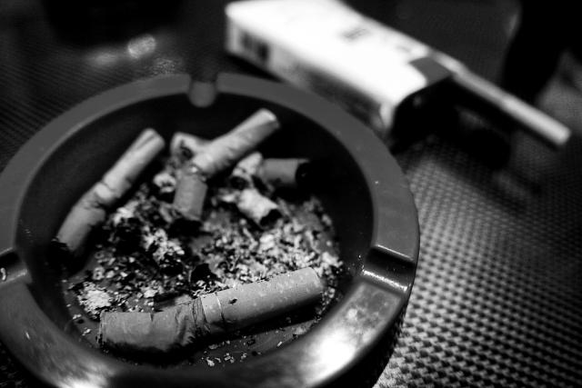 友達のタバコ
