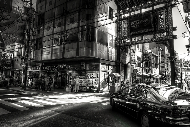 平日の中華街1