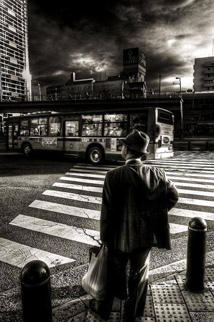 桜木町の老紳士