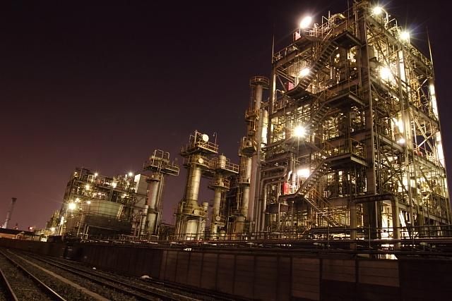 川崎 工場燃え3