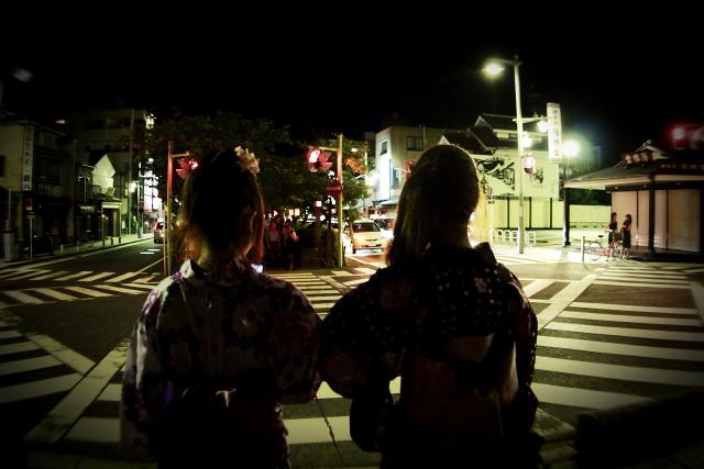 鎌倉 ぼんぼりまつりの日