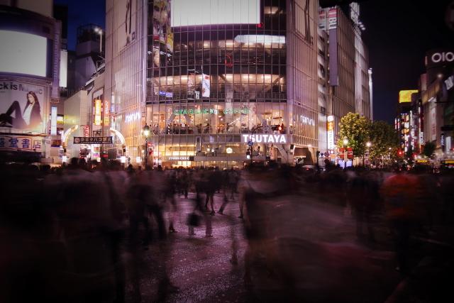 渋谷と人々