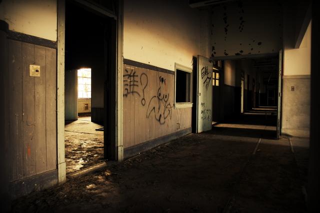 霞ヶ浦の廃墟 2b