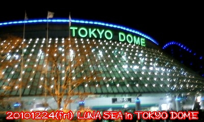 20101224(fri) LUNA SEA in TOKYODOME