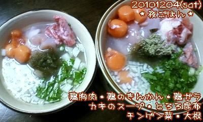 20101204(sat)夜ごはん