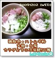 20091202夕飯