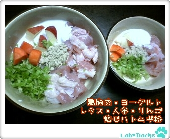 20091107sat/夕飯