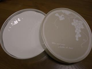 レリーフ 丸皿
