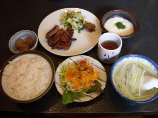 牛たん利休 泉本店(ぐるなび定食¥1575)