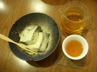わらび餅・碁石茶