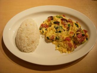 Eggs'n Things(グリーンオニオンとミートのスクランブルエッグ)