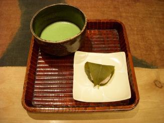 うおがし銘茶 茶の実倶楽部(ことのは・桜餅)