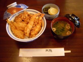 銀座 天國(お昼天丼)