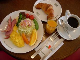 イノダコーヒ(京の朝食¥1200)