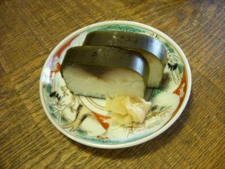 そば切り 蔦屋(鯖寿司)