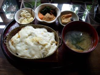 cafe紅(めんたいこドリア)