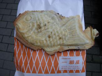 柳屋(高級鯛焼¥140)