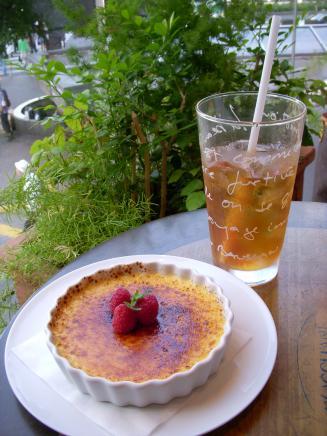 L'OCCITANE Cafe(ブリュレロクシタン¥800・テ・グラッセ¥750)