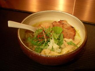 麺屋 宗(うま塩味玉そば¥850)