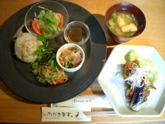 KURUMINOKI 一条店(くるみの木 初夏のランチ¥1470)