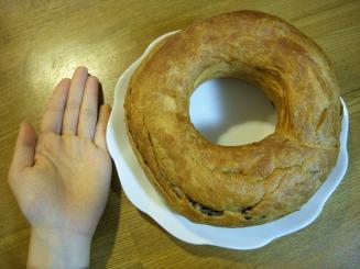 Heart Bread ANTIQUE 銀座本店(天使のチョコリングMの大きさ)
