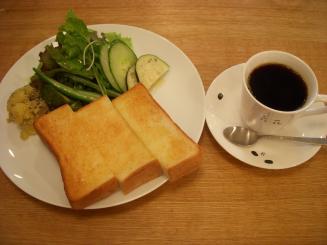 喫茶 六花(モーニングBセット¥600)