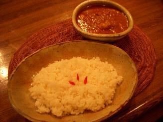ASIAN SOUL(チキンカリー¥950)