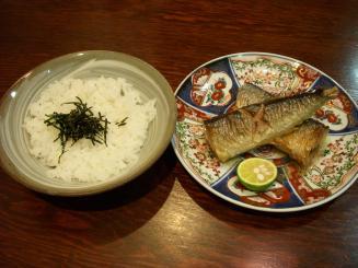 AROMA DINING(新さんまの焼きびたし¥1300)